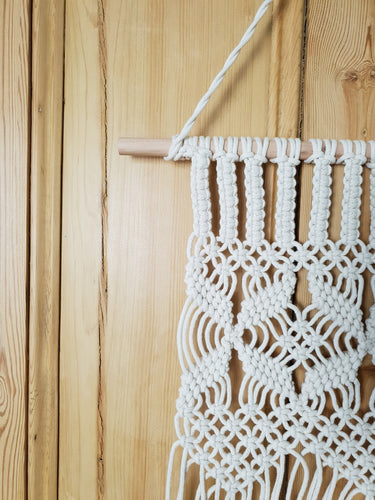 Cotton Macrame Hanging Design Three