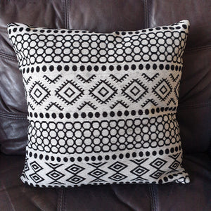 White and Black Cushion