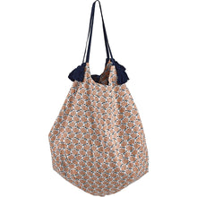 Load image into Gallery viewer, Liv Interior Coral Cotton Print Bag