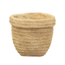 Load image into Gallery viewer, Sass & Belle Sierra Cement Basket Planter
