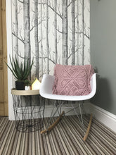 Load image into Gallery viewer, Liv Interior Dusky Pink Macrame Cushion