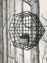 Load image into Gallery viewer, Medium Hexagon Industrial Wire Shelf