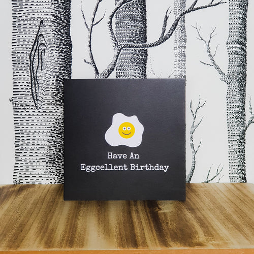 Punderful Birthday Card - Egg