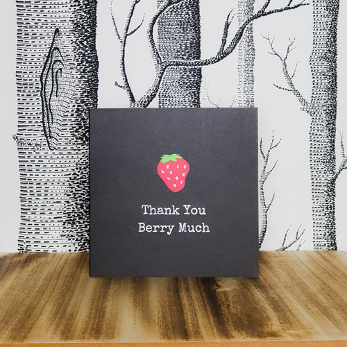 Punderful Thank You Card