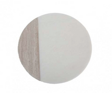 Load image into Gallery viewer, Round Marble Chopping Board