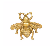 Load image into Gallery viewer, Sass & Belle Golden Bee Vintage Drawer Knob