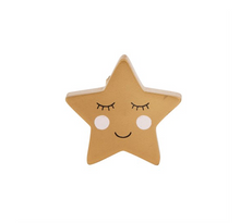 Load image into Gallery viewer, Sass & Belle Sweet Dreams Smiling Star Drawer Knob
