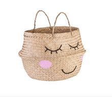 Load image into Gallery viewer, Sass & Belle Seagrass Sweet Dreams Storage Basket