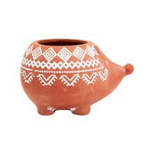 Load image into Gallery viewer, Sass & Belle Terracotta Hedgehog Planter