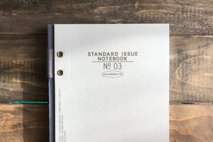 Standard Issue No.03 Ledger - Taupe