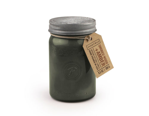 Relish Vintage 9.5oz Jar - Smoked Wood & Amber