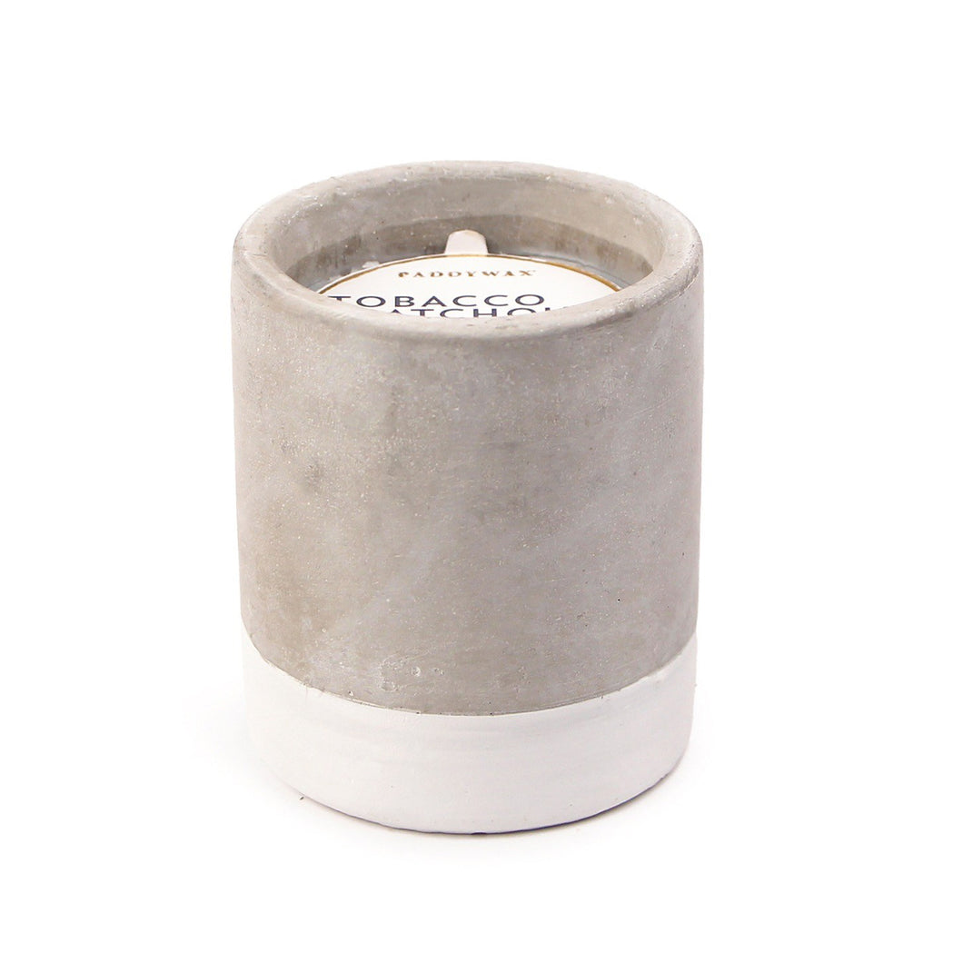 Urban Concrete 3.5oz Candle - Tobacco & Patchouli