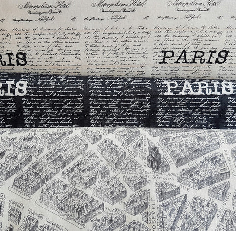 Destination Paris Fabric