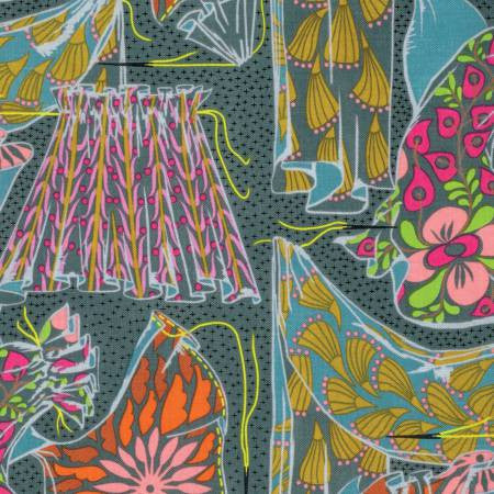 Fibs and Fables Fabric