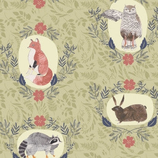 Foxtail Forest Fabric