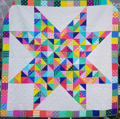 70674ae2b78 Quilt kits make it easy - get all of the fabric you need to complete the  quilt top and binding. You add the batting and backing.