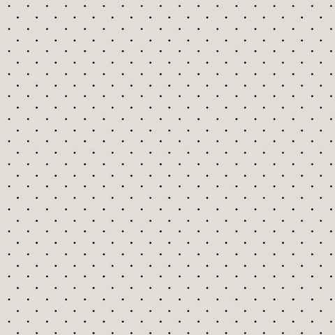 Adornit Farmhouse Tiny Dot in Cream and Black