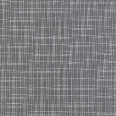 Moda Pure and Simple Brushed Wovens - Plaid Slate Grey