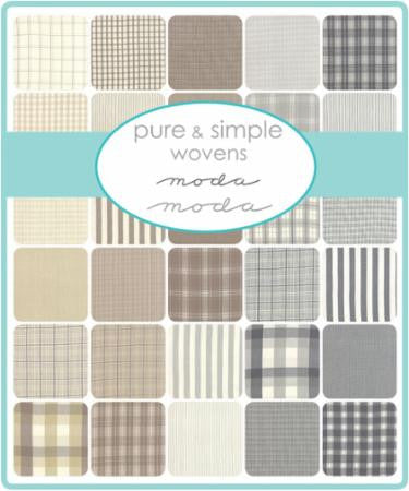 Pure and Simple Wovens Charm Pack