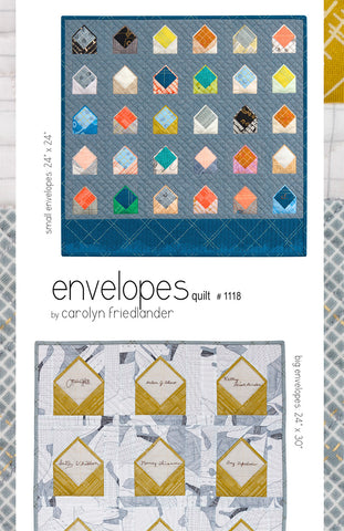 Carolyn Friedlander Envelope Quilt Pattern