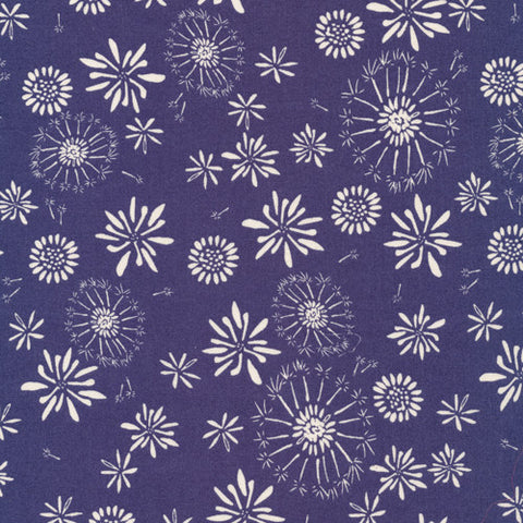 Rain Walk Tumble Navy Canadian Online Fabric Store
