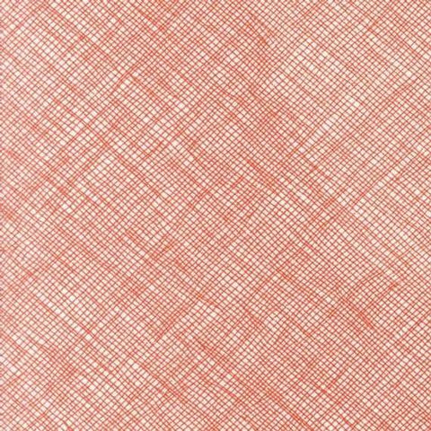 Carolyn Friedlander Widescreen  - Crosshatch Flame