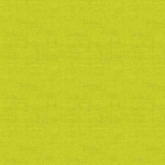 Makower Linen Texture Light Lime