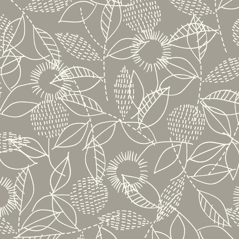 Eloise Renouf Threads - Backstitch Gray