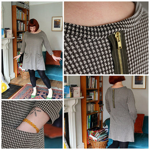 Lazy Seamstress Weekend Doris Dress