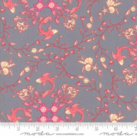 Manderley Floral Sea Grey