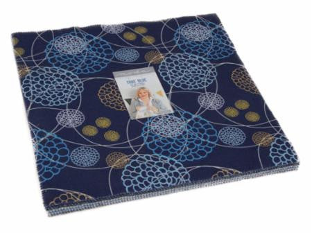 Zen Chic True Blue - Globe Quilt Kit