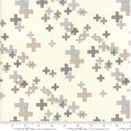 Zen Chic Modern Backgrounds Colorbox - Pluses Porcelain/Dove