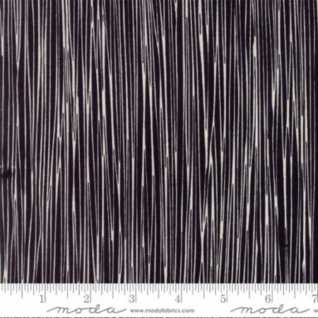 Thicket by Gingiber, Stripes Black Natural