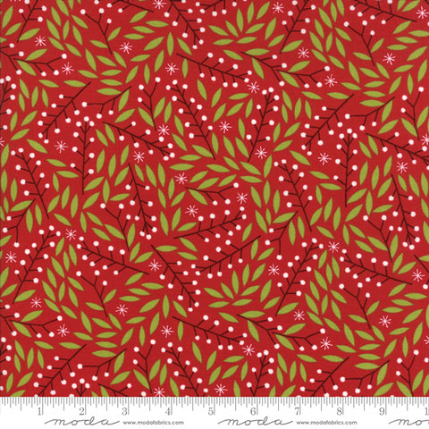 Merriment by Gingiber for Moda - Holly Berries in Berry