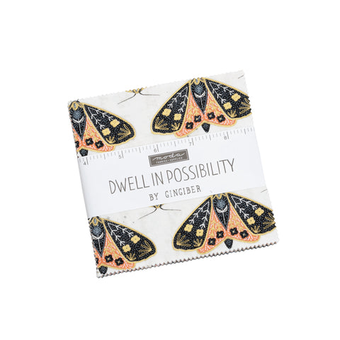 Gingiber for Moda - Dwell in Possibility - Charm Squares