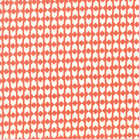 Cotton + Steel Arrows in Coral