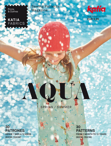 Katia Aqua 2020 Pattern Book for 1 month to 12 years