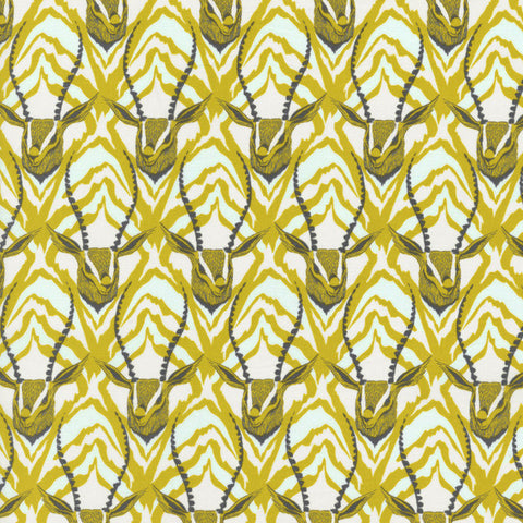 Cotton + Steel Frolic in Citron
