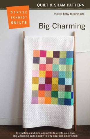 Denyse Schmidt Big Charming Quilt Kit - no background