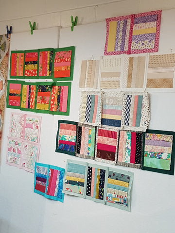 Quilt As You Go - Rail Fence - May 24 10:00 - 4:00
