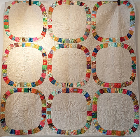 Lazy Wedding Ring Quilt Class - June 7 10:00 - 4:00