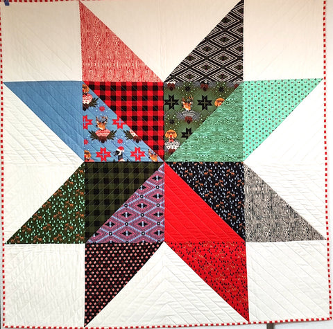 Lonestar Quilt in Tula Pink Holiday Homies