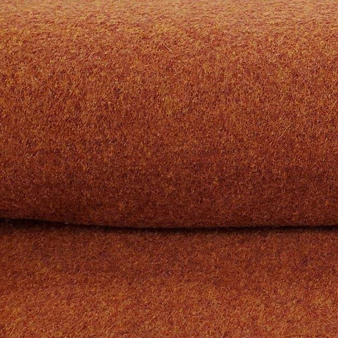 Euro Boiled Wool in Rust