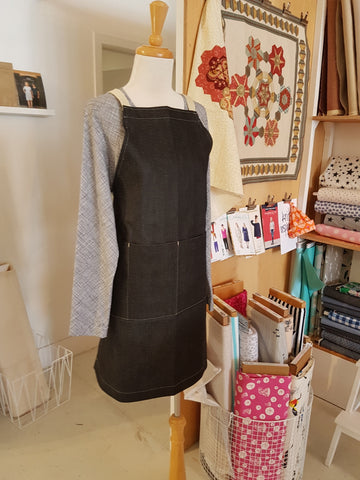 Denim apron - (aka Learn to Sew - PART 2) May 19 10:00 - 4:00 PM