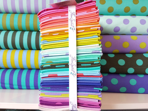 Designer Bundle - All Stars Dots and Stripes - Tula Pink 42 fat quarters