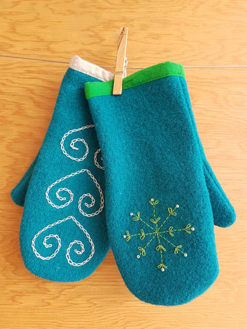 Homemade Holidays - Boiled Wool Mittens  Part I Thurs Oct 25 10:00 - 1:00