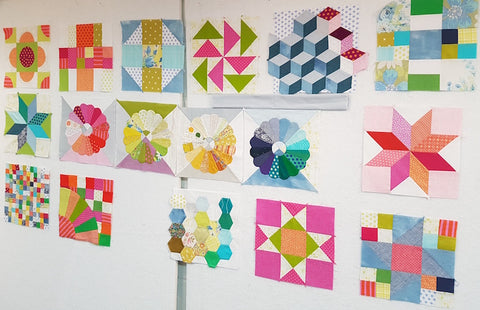 Learn To Quilt - Hand Piecing With Accuracy - 10 Classes starting Thursday February 7 1:30 - 3:30