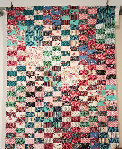 Jelly Roll Quilt Workshop - Wednesday June 26 10:00 - 2:00