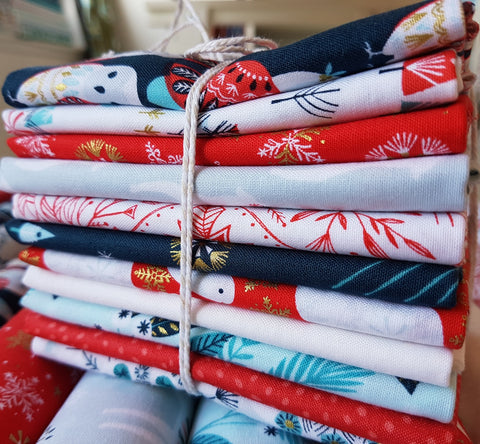 Designer Bundle - Skogen - 9 Fat Quarters