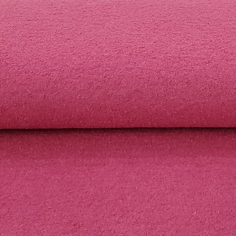 Euro Boiled Wool in Magenta